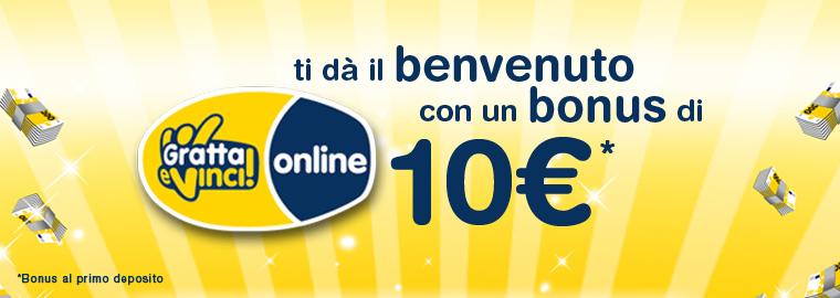 Bonus Benvenuto better Lottomatica